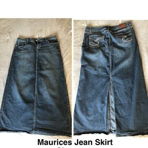 Maurices Jean Skirt
